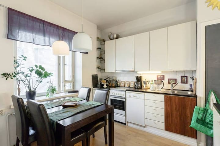 Stylish Studio apartment near everything. - Hèlsinki - Pis