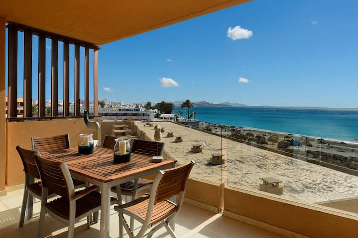 Great SEAVIEW Apt in Playa den Bossa near Usuhaia! - Sant Josep de sa Talaia - Apartment