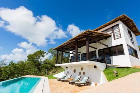 Casa com piscina & vistas incrveis - Porto de Pedras - Casa