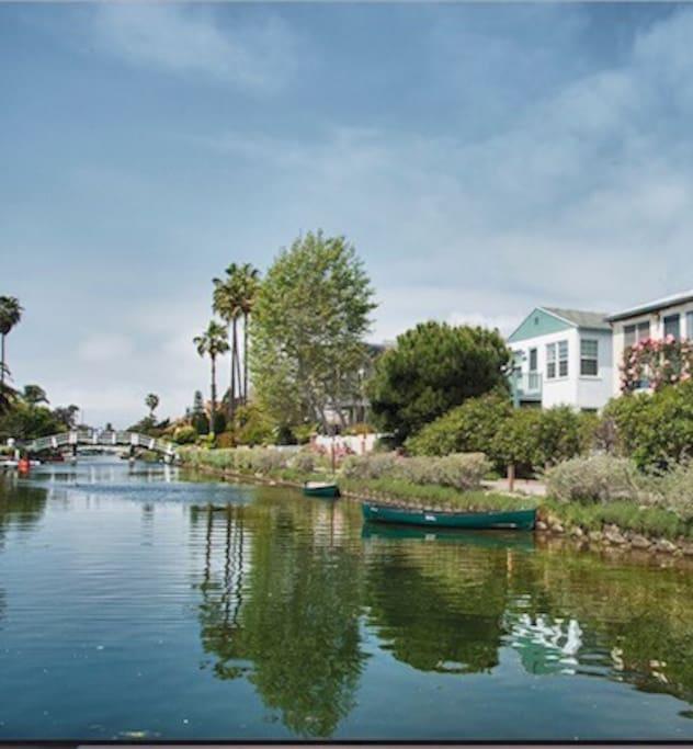 Serene Venice Canals