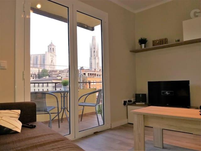 Apartamento con magníficas vistas de la ciudad