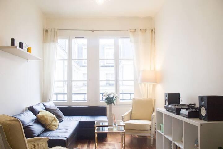★ Grand appt lumineux, silencieux et central - Paris-2E-Arrondissement - Casa