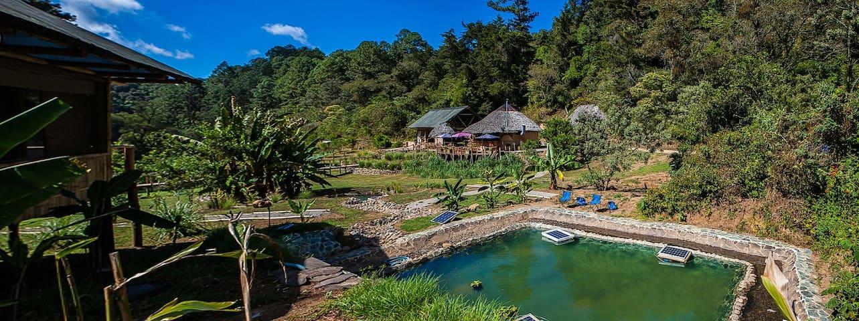 Cabaña Verde en El Tular - San José Pinula - Houten huisje