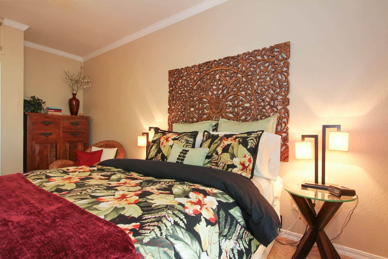 Elegant. Serene. Cozy. A private studio apartment located in beautiful Lake County, California
