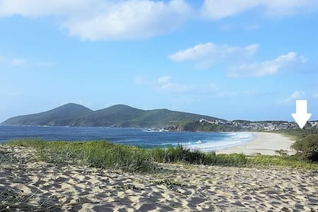 CHILL-OUT BEACH HOUSE @ FORSTER *family *pets *WFH