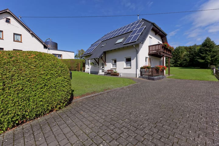 Landelijk appartement in Duitsland met een sauna