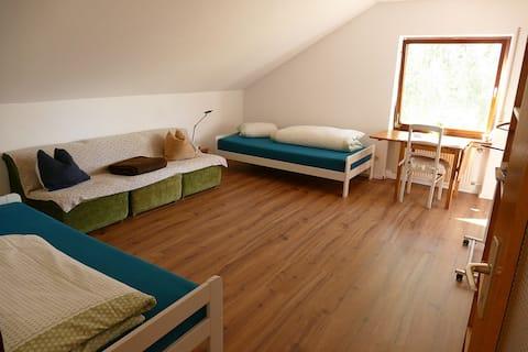 Schönes Gästezimmer in ruhiger Lage.