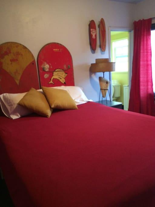 Comfy Queen custom bed