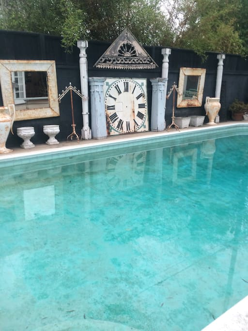 Private pool for Disgraceland guests