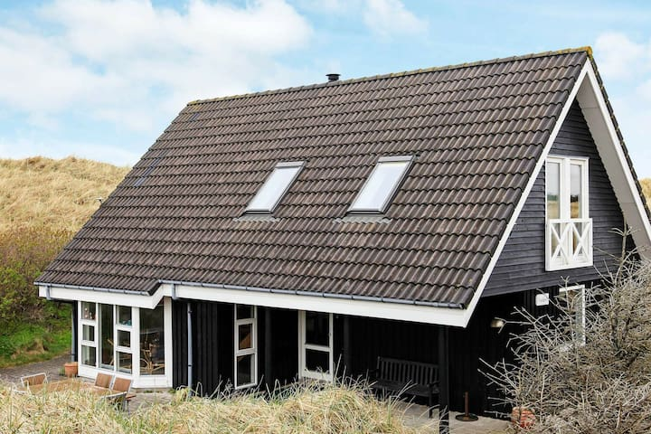Lovely Holiday Home in Saltum with Roofed Terrace