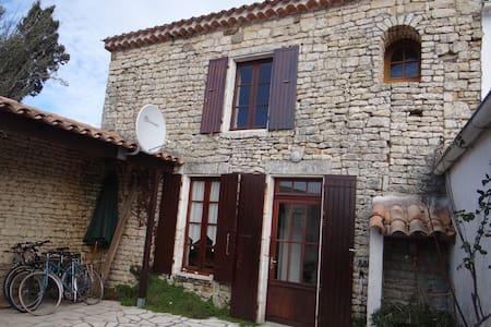 Maison en pierres typique d'Oleron - Dolus-d'Oléron - Dom