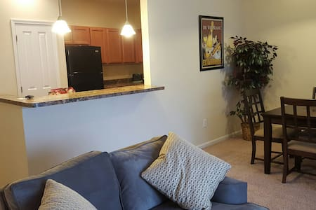 HUGE townhouse w/garage FURNISHED! New. - Townhouse
