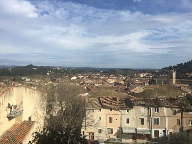 Moderne & climatisé, avec belle vue - Clermont-l'Hérault - Pis