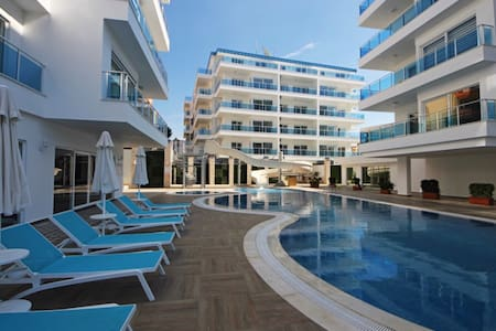 Апартаменты в прекрасном комплексе - Avsallar Belediyesi - Apartmen