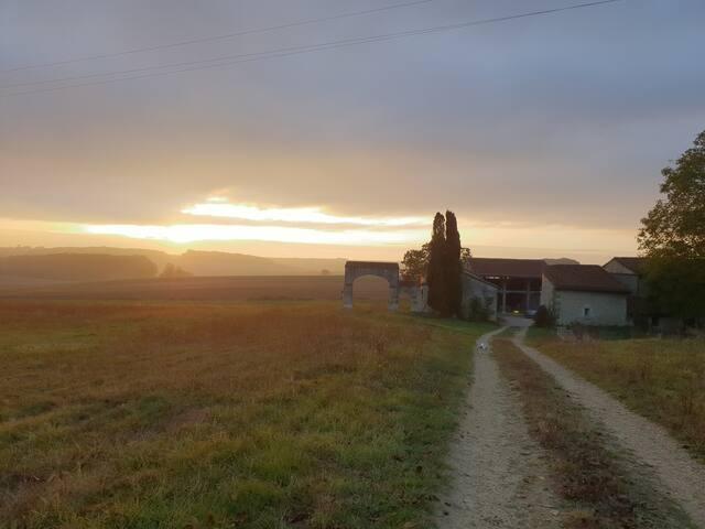 Le petit Prieuré, maison de campagne en Tourraine