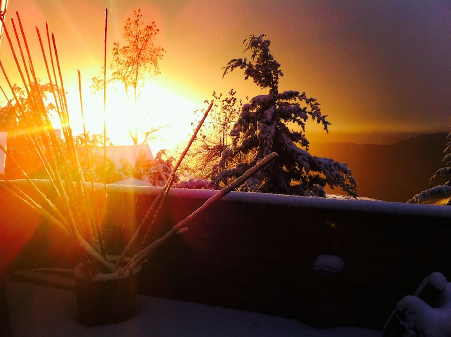Vistas Sunset terraza
