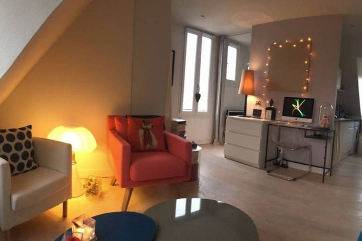 **NEW**Charming flat with amazing view Paris