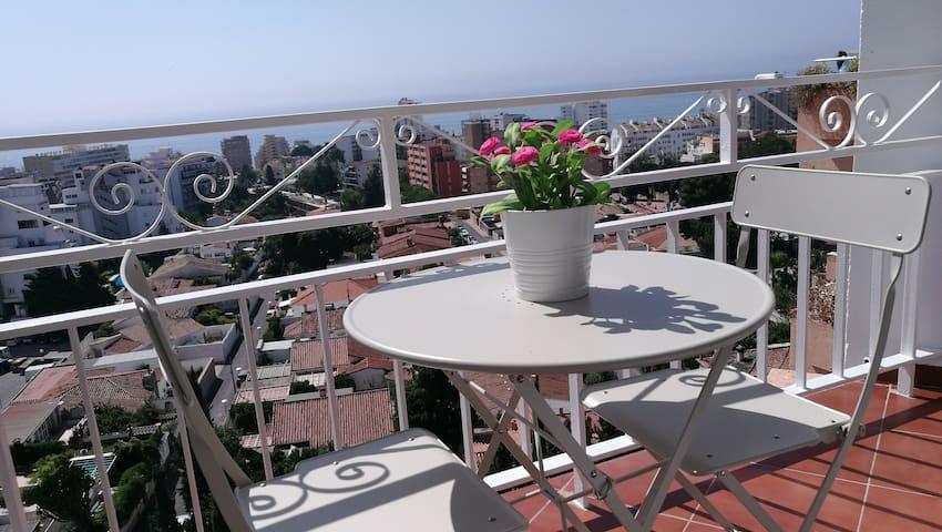 Apartamento vistas unicas al mar!
