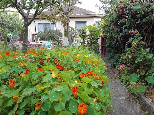 Garden spot in St Mary's Park