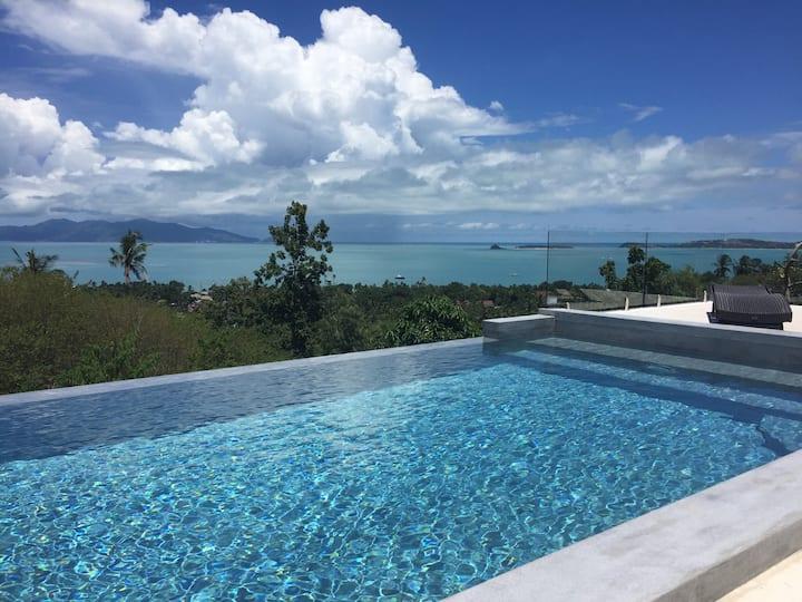 La Villa Arganda et sa vue imprenable sur mer