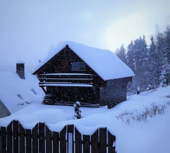 Moderní chaloupka v Horních Lučanech - Lučany nad Nisou