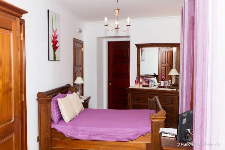 Casa do Brasão (quarto duplo) - Tabuaço - Chambre d'hôtes