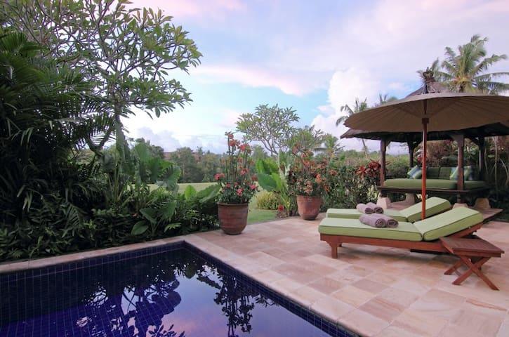Surya, 3 Bedroom Villa, Car+Driver, Tabanan