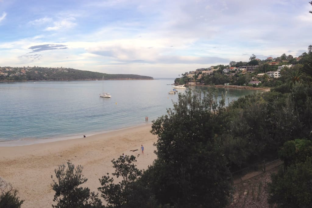 Chinamans Beach, 10-15 minutes from the apartment - one of the hidden gems of Mosman!