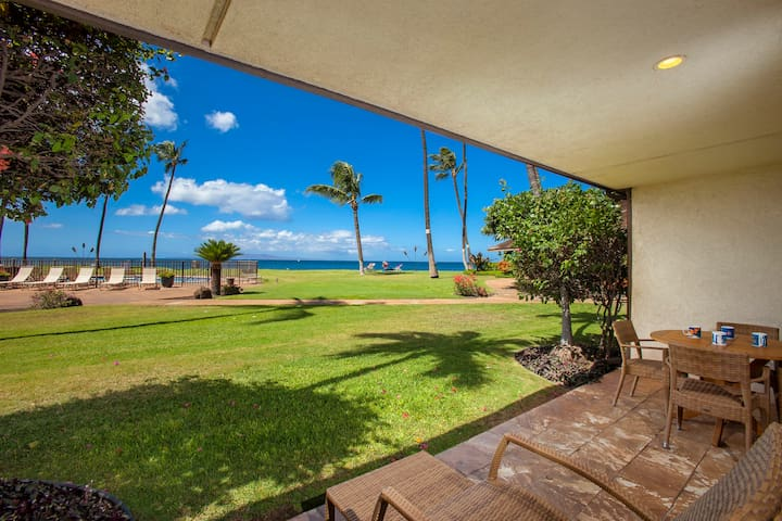 Maalaea Surf Resort #C-3 Gorgeous Ocean View Nicely Remodeled, Steps to Beach