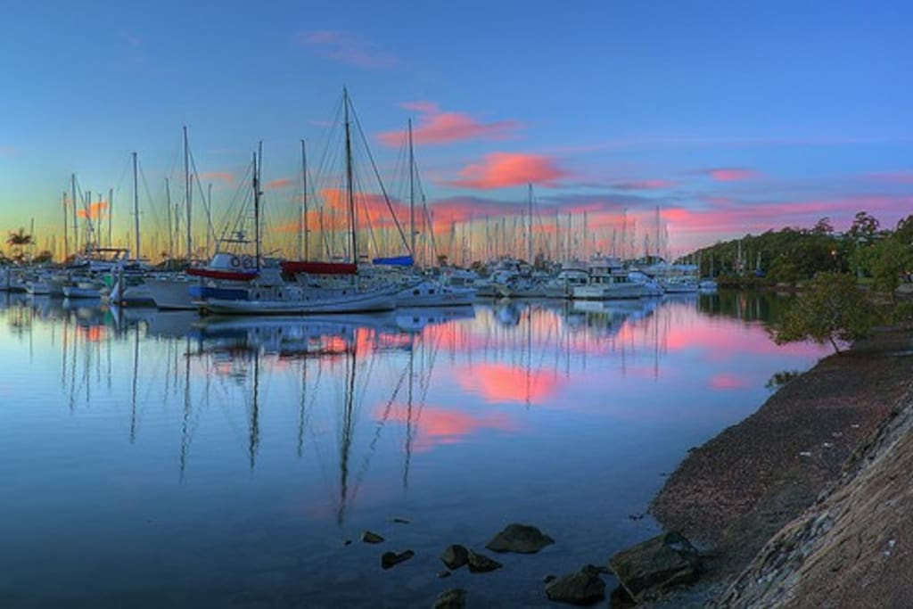 Manly Harbour Sunset
