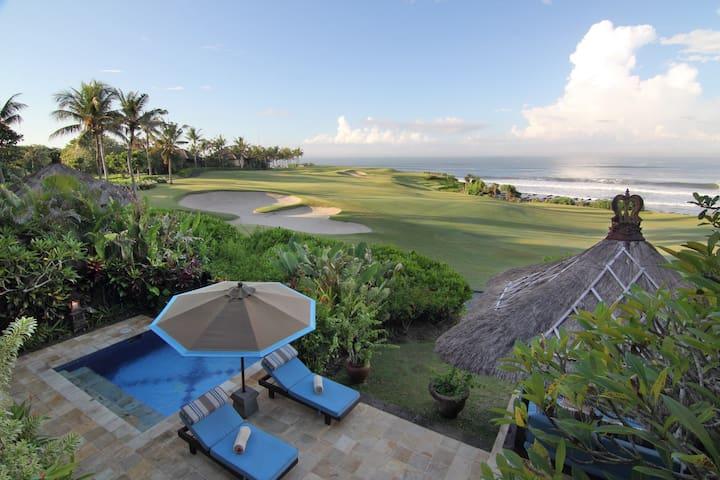 Sunset Golf, 3 Bedroom Villa, Car+Driver,Tanah Lot