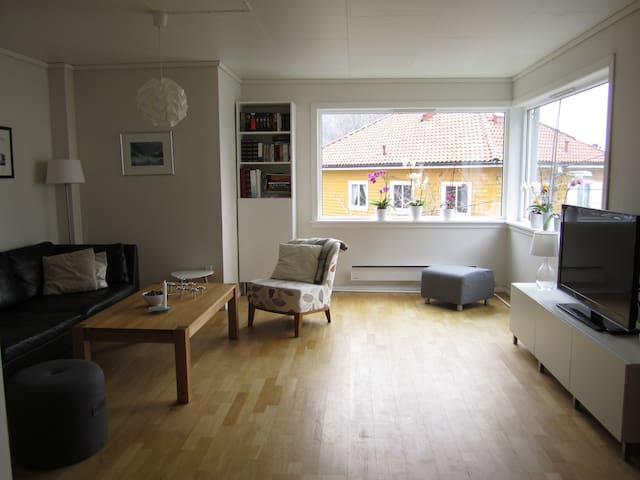 Lovely room in a modern apartment - Bergen - Daire