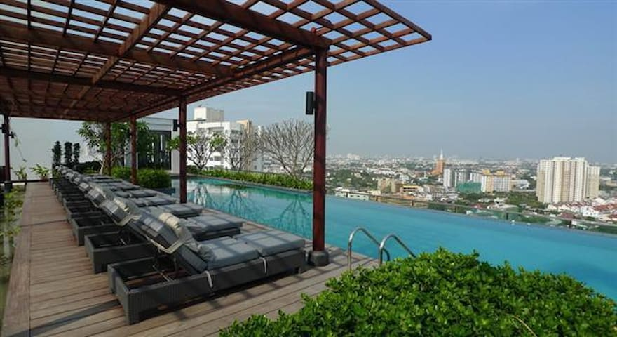 IdeoMix, Sukhumvit RD, close to BTS - Bangkok - Apartament