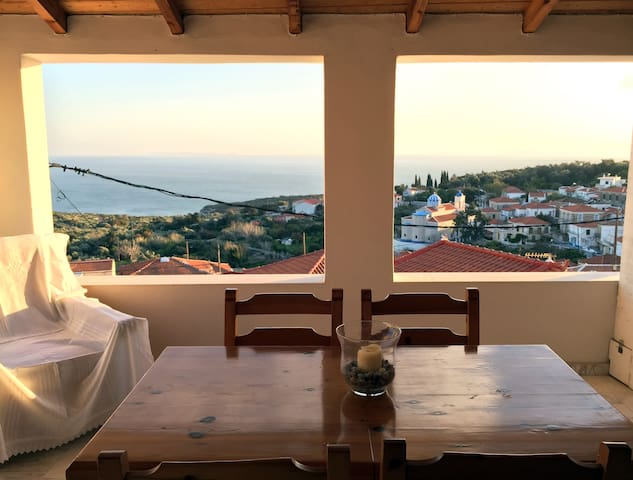 Seaview Tradional Mezonette House - Samos Island, Greece - House