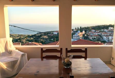 Seaview Tradional Mezonette House - Samos Island, Greece