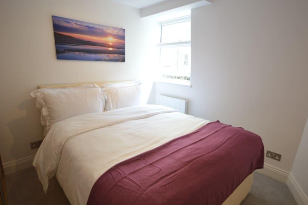 Alternate view - second floor double bedroom