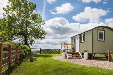 Folly Farm Shepherd Hut -  Self Catering
