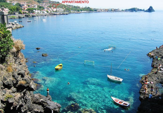 Acitrezza beautiful apartment - Aci Castello