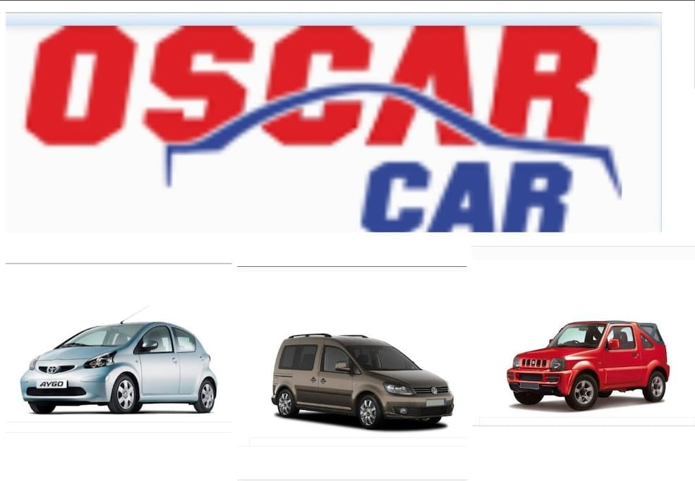 We can help you with car rental upon request Oscar car is a very trustworthy agency that offers our guests full insurance,  limitless kilometers and airport service for free.  Just ask us for prices and availability