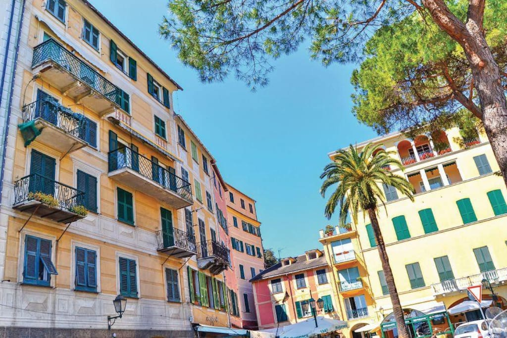 Una finestra sul mare vista mare wifi apartments in affitto a santa margherita ligure - Una finestra sul mare ...