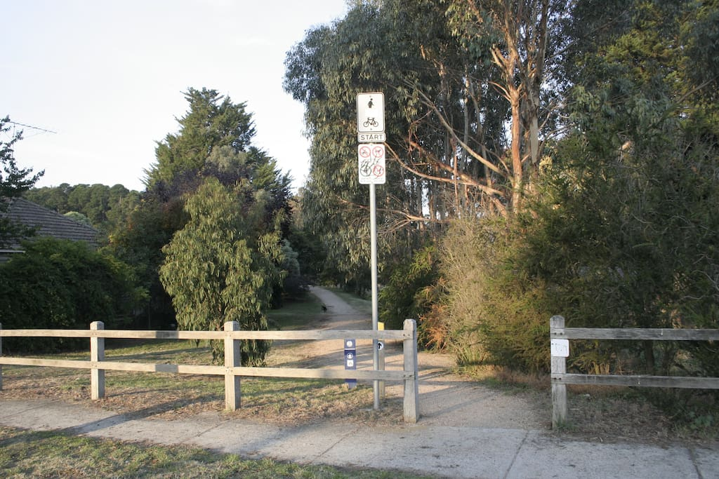 Located opposite the Eureka Walking Trail