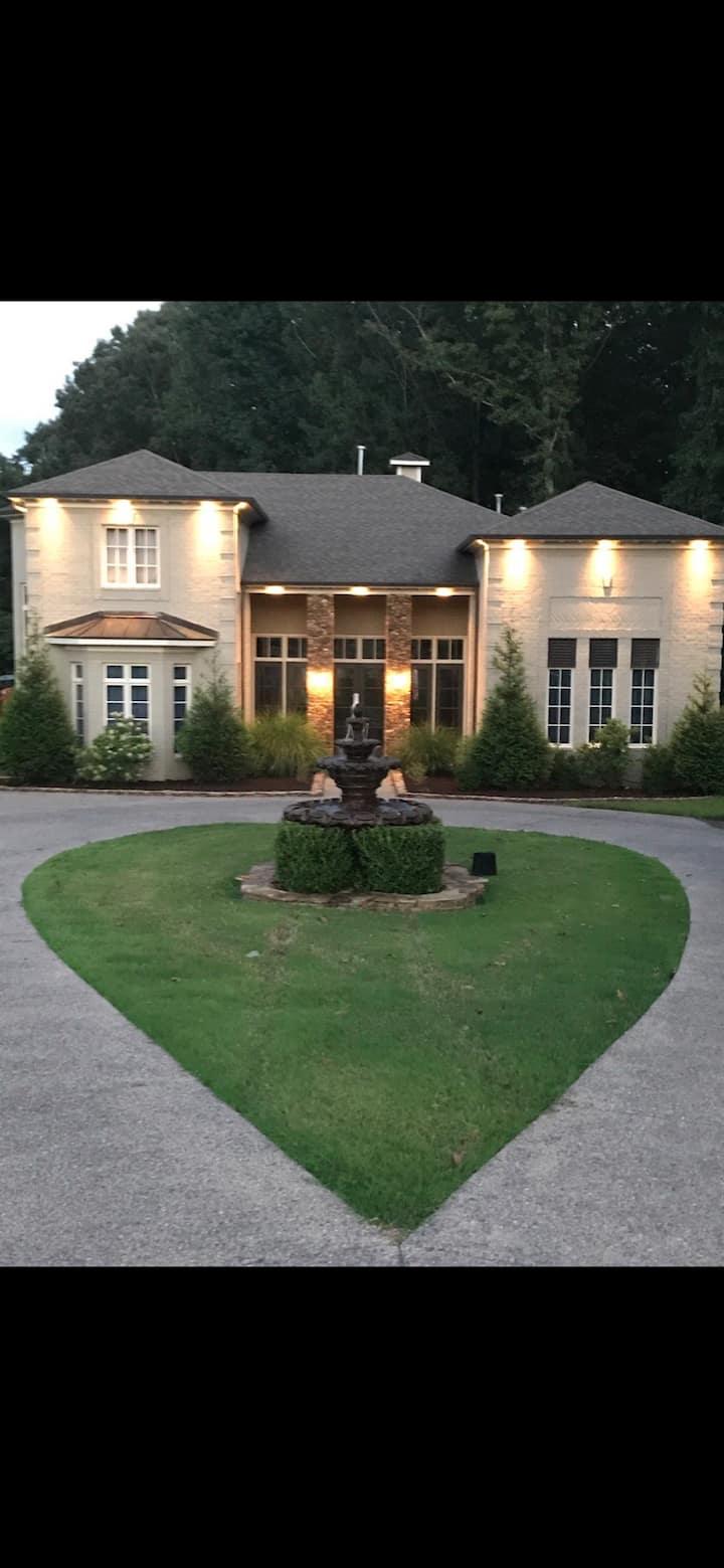 Beautiful, modern home in a private setting