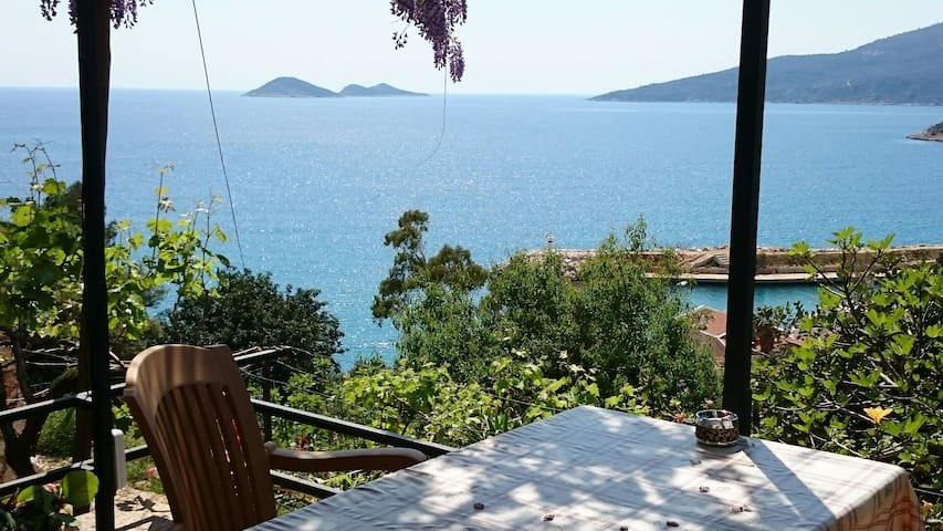 Stunning view of Kalkan´s bay - Kalkan - Domek gościnny