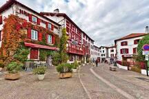 Le village typique d'Espelette