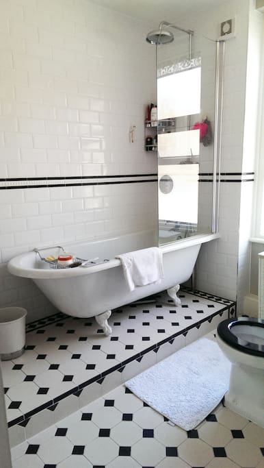 Victorian Bath in Bathroom