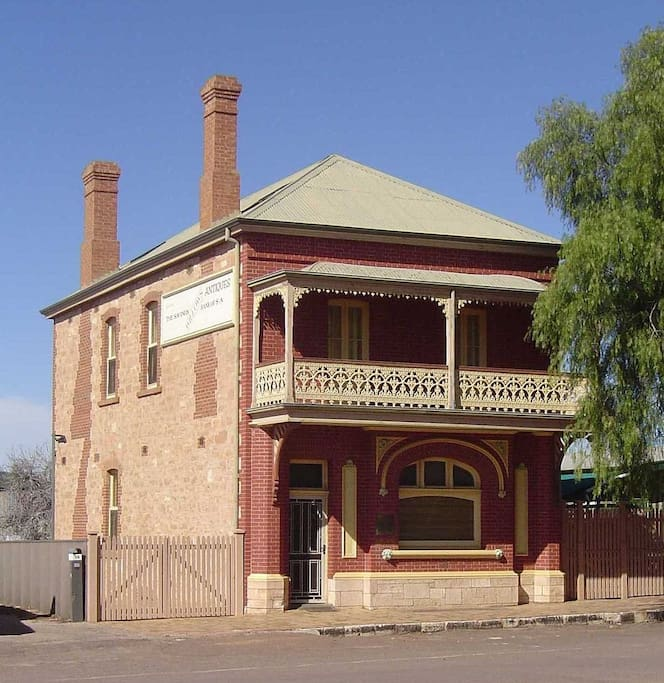 Historic, spacious and comfortable, the Savings Bank of South Australia bank building, full of character