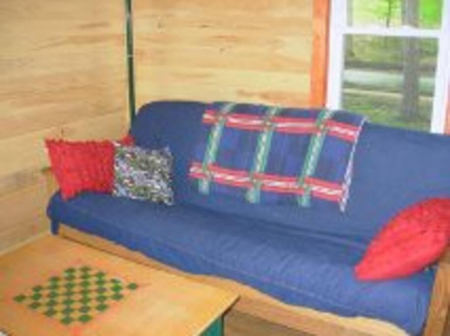 Queen futon