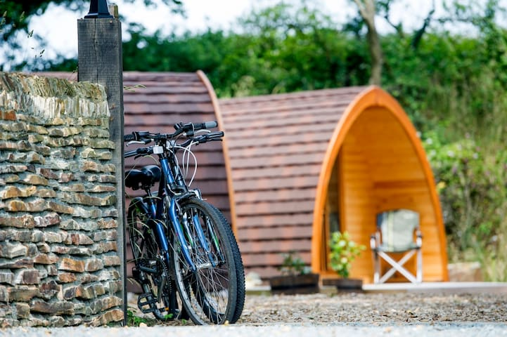 Quarry Pods @ Dunsdon Farm - Holsworthy