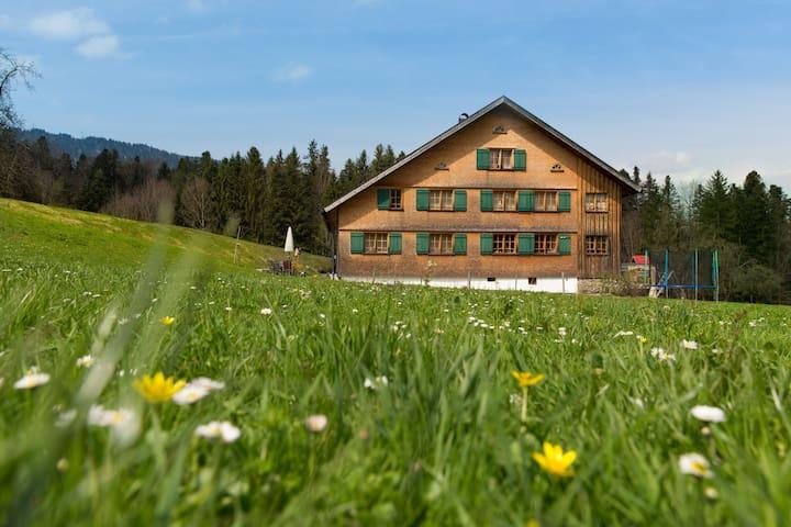 Traditionelles Wälderhaus