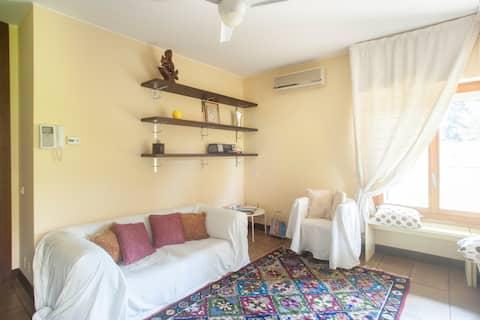 Een slaapkamer appartement 30 min. van Milaan